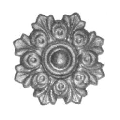 Rosace ferronnerie